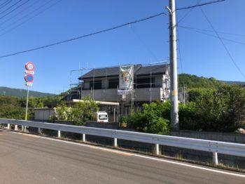 阿波市土成町 サイディング塗装 屋根塗装 I様邸