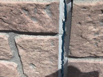 コーキング 破断 外壁 施工前 徳島市