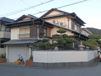 側面 住宅 徳島県 大原町 施工前