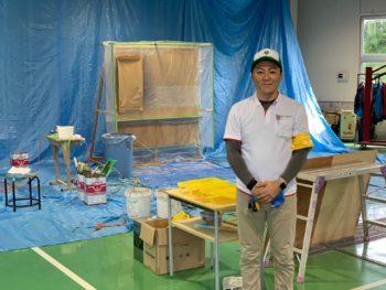 一級塗装技能士 徳島県です。