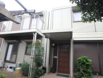 徳島 施工前 塗装 住宅