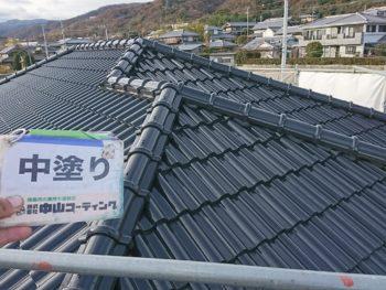 阿波市 徳島県 塗装 ガイソールーフガード無機 屋根