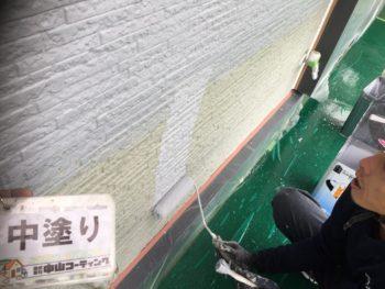 ウォールフッ素4FⅡ 塗装 とくしま 外壁 大野