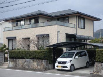 施工前 徳島 丈六 住宅 塗装