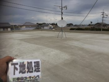 下地処理 倉庫 屋根 塗装 とくしま