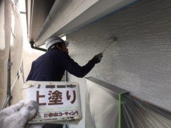 塗装 とくしま ウォールフッ素4FⅡ 外壁 大野