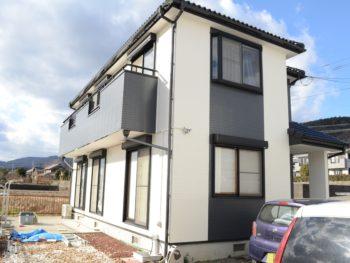阿波市 住宅 全体 完工 徳島県