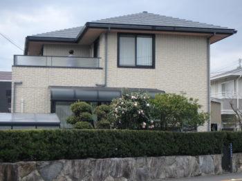徳島 丈六 住宅 塗装 施工前