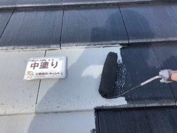 塗装 徳島 ルーフガード無機 屋根