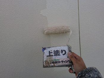 塗装 外壁 白系 徳島県