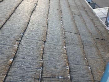 屋根 劣化 色褪せ パミール 徳島県