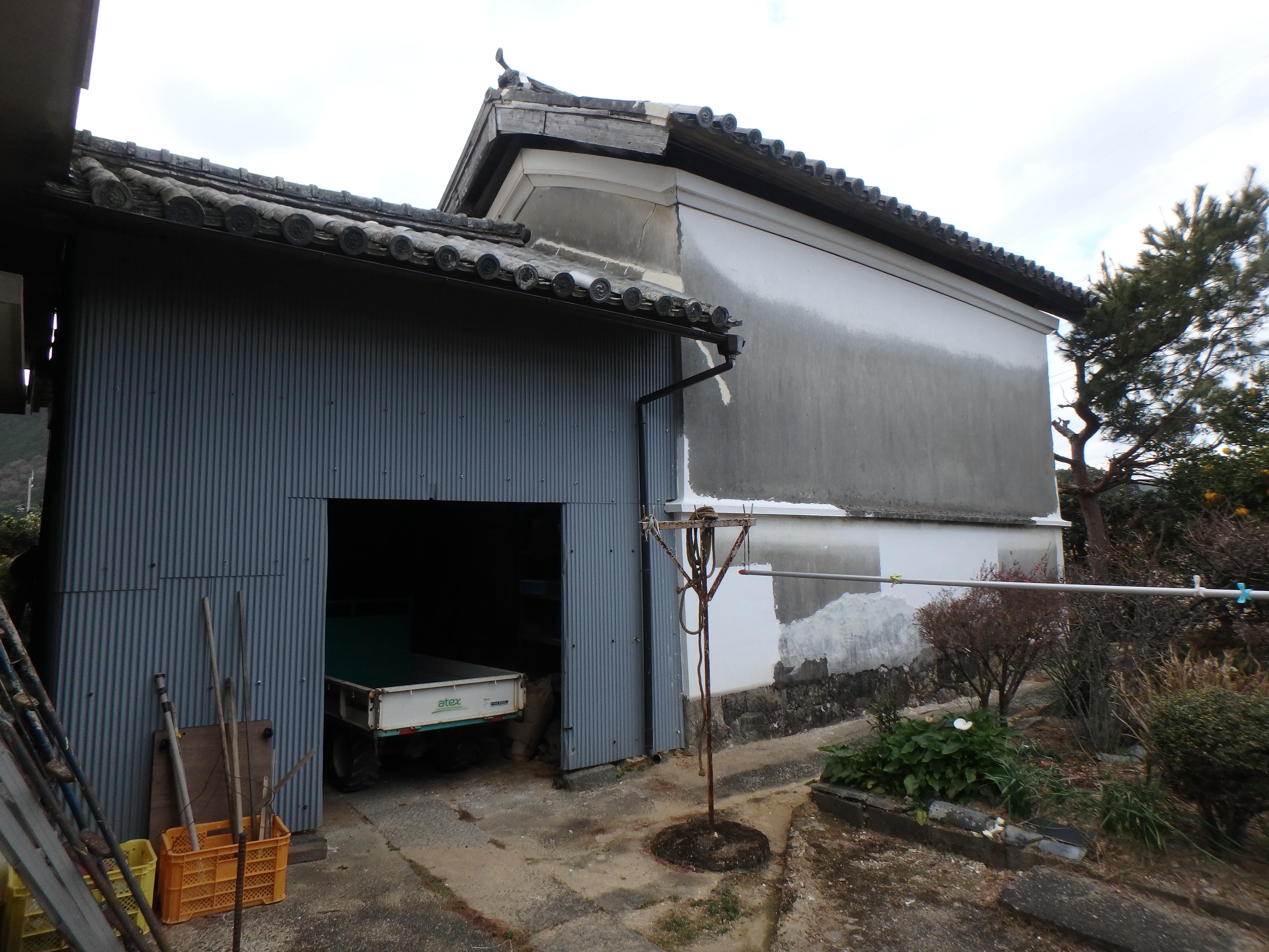 倉庫 施工前 徳島県 阿南市