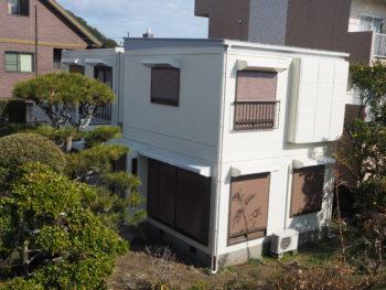 完工 住宅 白 徳島県 塗装