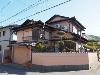 住宅 徳島県 大原町 施工後 側面