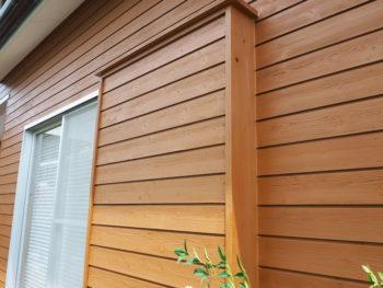 戸袋 徳島県 塗装 木材 施工後