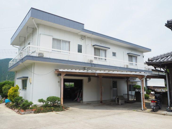 施工後 納屋 塗装 徳島県 阿南市