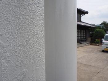 阿南市 施工後 雨樋 塗装 徳島県