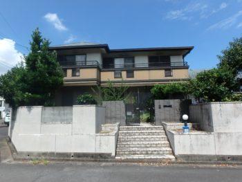 施工前 正面 塗装 上八万 徳島県