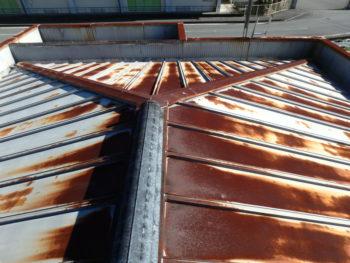 屋根 錆 徳島 施工前 塗装