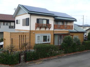 施工前 住宅 塗装 正面 徳島県