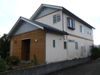 住宅 塗装 裏面 徳島県 施工前