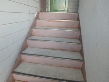 階段 劣化 色褪せ 徳島県 北島町