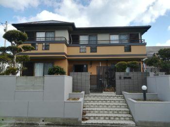 パナホーム住宅 外壁断熱塗装|屋根葺き替え 徳島市F様