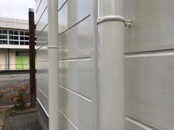 塗装 雨樋 施工後 徳島