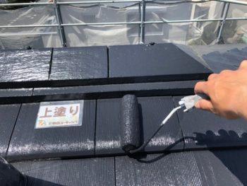 徳島 ルーフガード無機 屋根 塗装