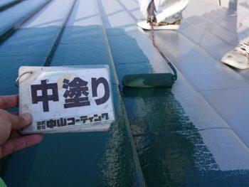 塗装 徳島県 緑 屋根