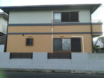 施工後 側面 住宅 徳島県 塗装