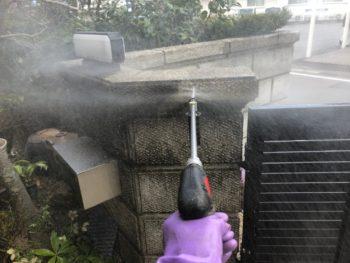 塀 洗浄 住宅 徳島