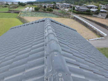 屋根 瓦 劣化 徳島県 阿波市