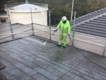 屋根 苔 洗浄 とくしま 上八万