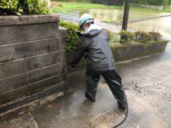 塀 洗浄 阿南市 徳島県