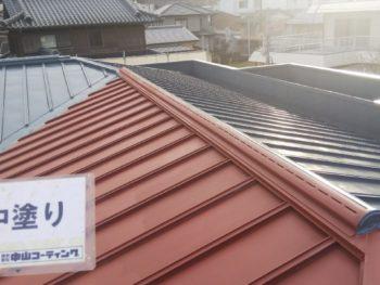 塗装 ルーフガードシリコン 徳島 屋根
