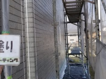 外壁 下塗り 塗装 徳島県 阿波市