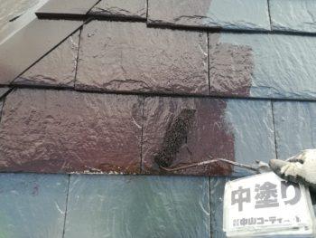 屋根 ルーフガード無機 塗装 徳島県 国府