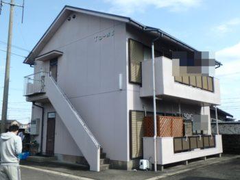 施工前 住宅 塗装 全体 徳島県