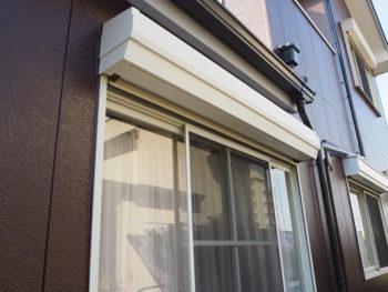 シャッターボックス 塗装 施工後 徳島県