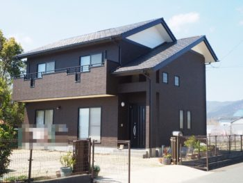 阿波市土成町 外壁屋根塗装 WBアートSi M様