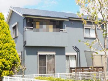 徳島市名東町ラジカル塗料で屋根外壁を塗替え