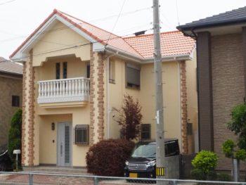 徳島市国府町の外壁施工事例ビーズコートF