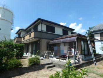 徳島県 上八万 施工前 住宅