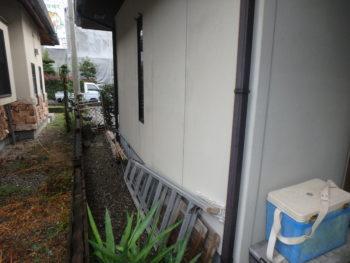 国府 汚れ 施工前 外壁 塗装