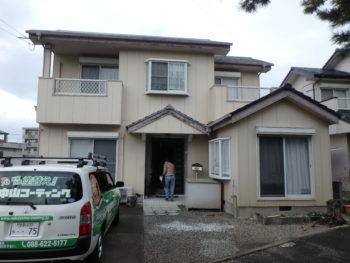 施工前 住宅 徳島県 塗装