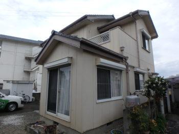 塗装 徳島県 施工前 住宅