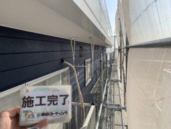 施工後 軒天井 アパート 徳島県