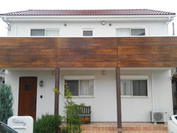 板野郡松茂町N様 外壁YKKAP張り・サイディングエイジング塗装