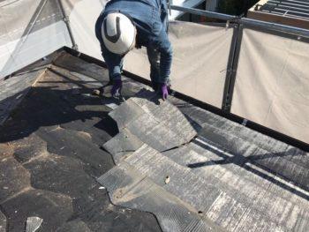 徳島県 八万 屋根 板金工事 撤去